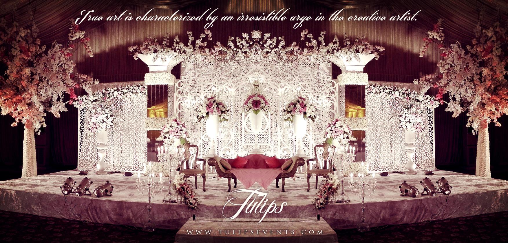 Best pakistani wedding walima stage decoration setup by tulips best pakistani wedding walima stage decoration setup by tulips events junglespirit Choice Image