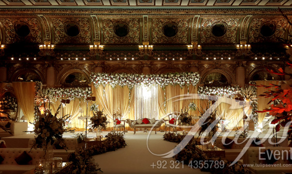 Grand Walima Stage Decor