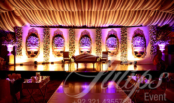 Purple Walima Setup