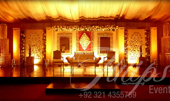 Drawing Room wedding stage