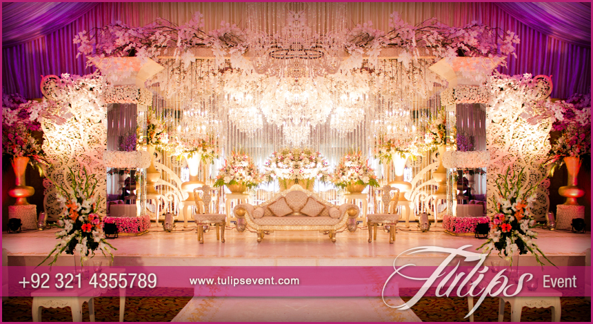 Grand Walima Stage Decoration Setup Planner In Pakistan