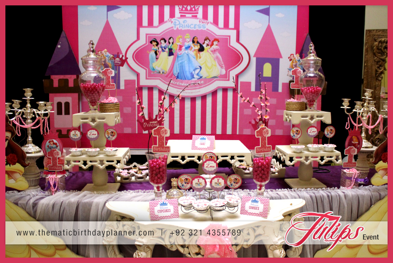 Find The Best Princess 1st Birthday Party Ideas In Pakistan