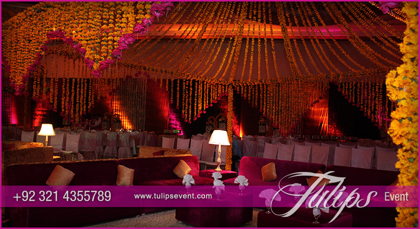 Best Mehndi Stage Wedding Decoration Ideas In Pakistan 08