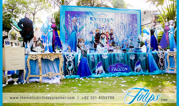 Frozen Elsa Theme Party
