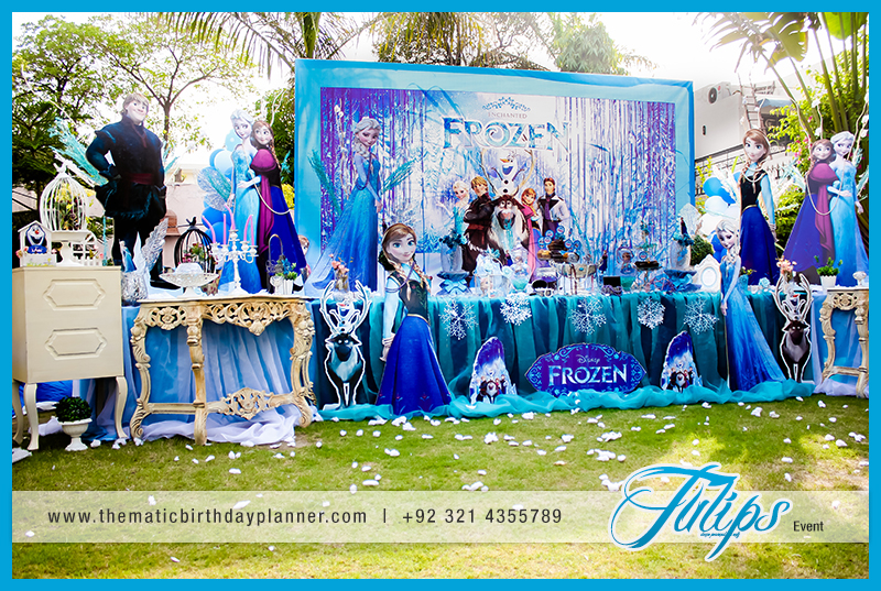 Frozen Elsa Theme Party Decoration Ideas In Pakistan