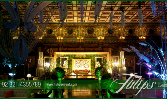 Green Wedding Theme Decor