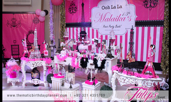 Ooh La La Paris Party Theme