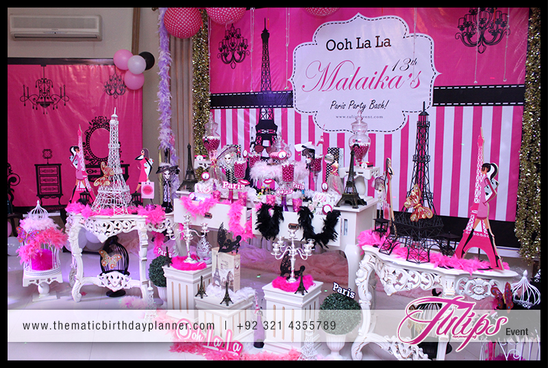 Ooh La Paris Party Theme Ideas In Pakistan