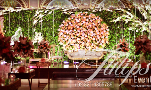 Green Garden wedding theme