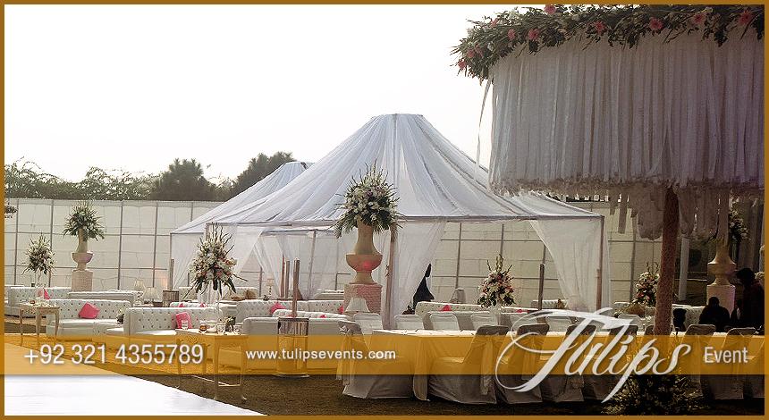 Outdoor open wedding event stage setup in pakistan daylight wedding event junglespirit Choice Image