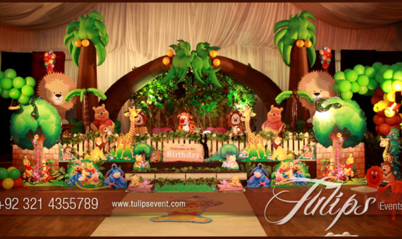 Jungle Animals Theme Party