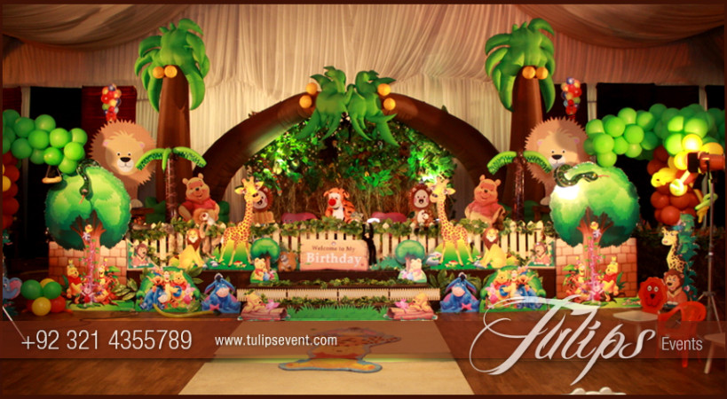 jungle theme party decoration ideas