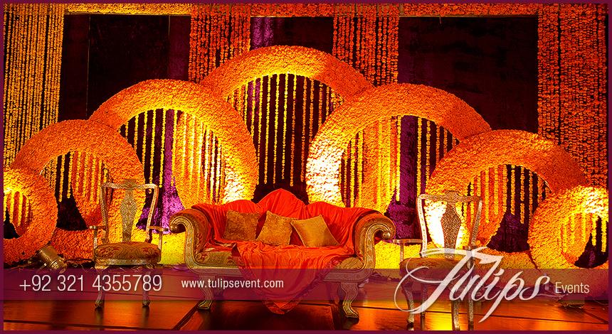 Mehndi Menu In Lahore : Top mehndi stage design photos in lahore pakistan 03 tulips event