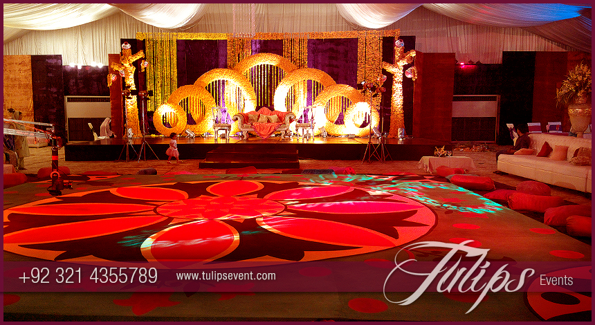 Top Mehndi Stage Design Photos In Lahore Pakistan 10 Tulips Event