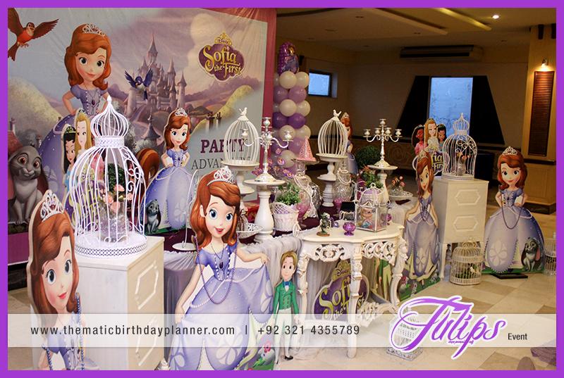Frozen Elsa Theme Party decoration ideas in Pakistan