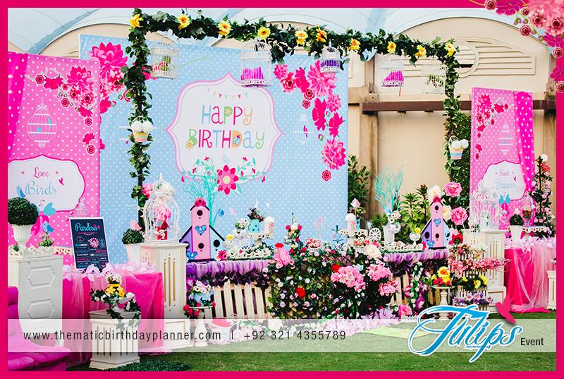 Sweet Garden Party Theme Arrangements Ideas In Pakistan 24 Tulips Event Management
