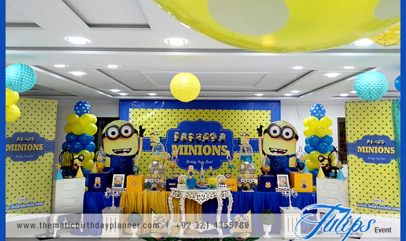 Minions party theme ideas
