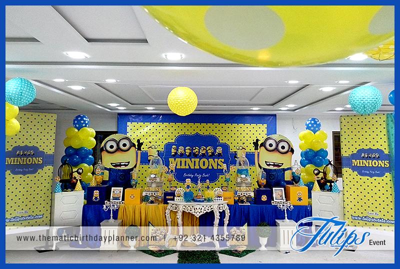 Minions Party Theme Ideas In Pakistan
