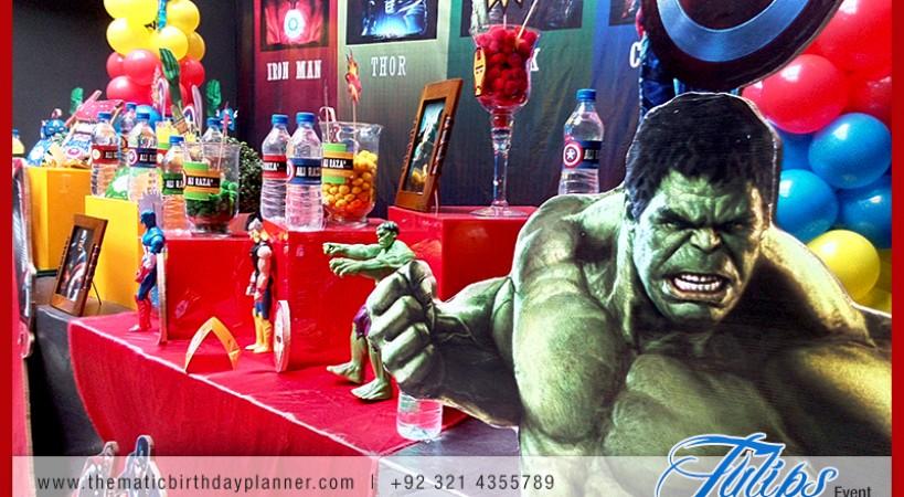 Superhero Themed Party Birthday Parties