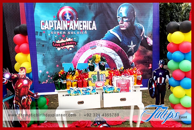 Avengers Themed Party - Tulips Event Management