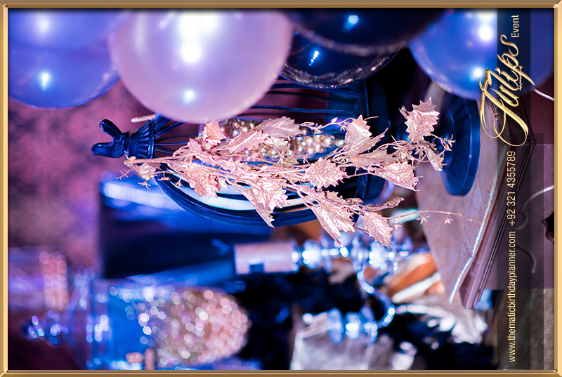 Gold Royal Blue Sweet 16 Themed Party Ideas In Pakistan 22 Tulips