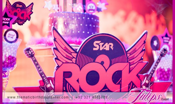 Rocker Girl Themed Party