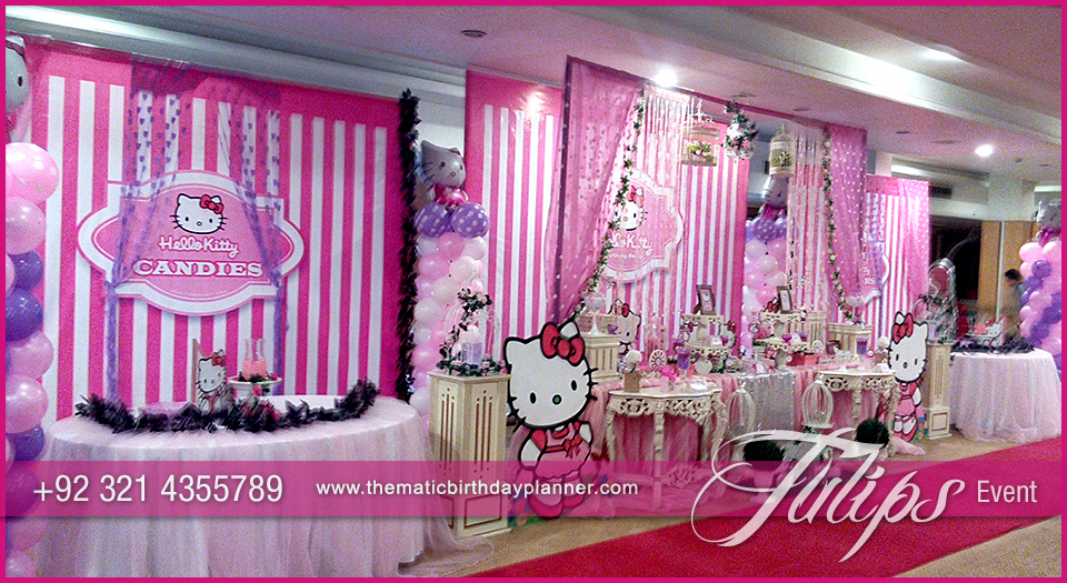 Hello Kitty Themed Party Tulips Event Management