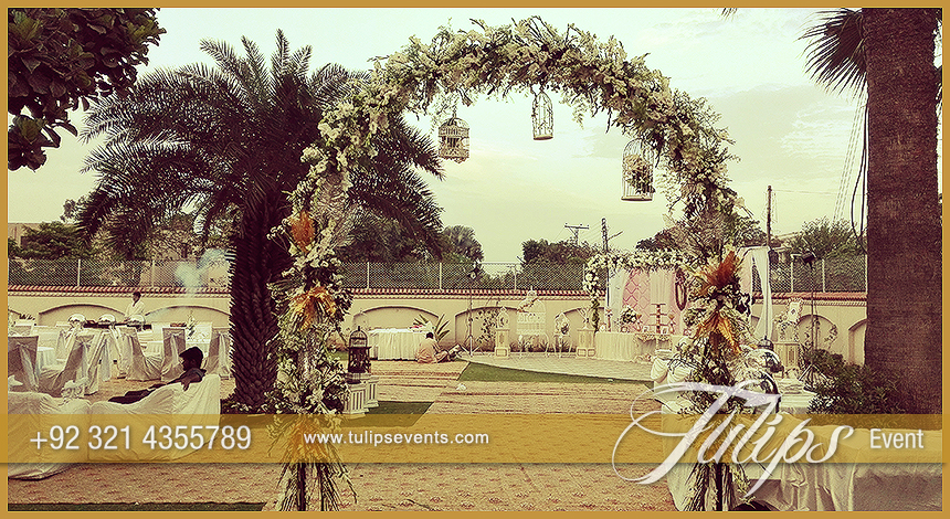 First wedding anniversary party ideas in pakistan 22 tulips event