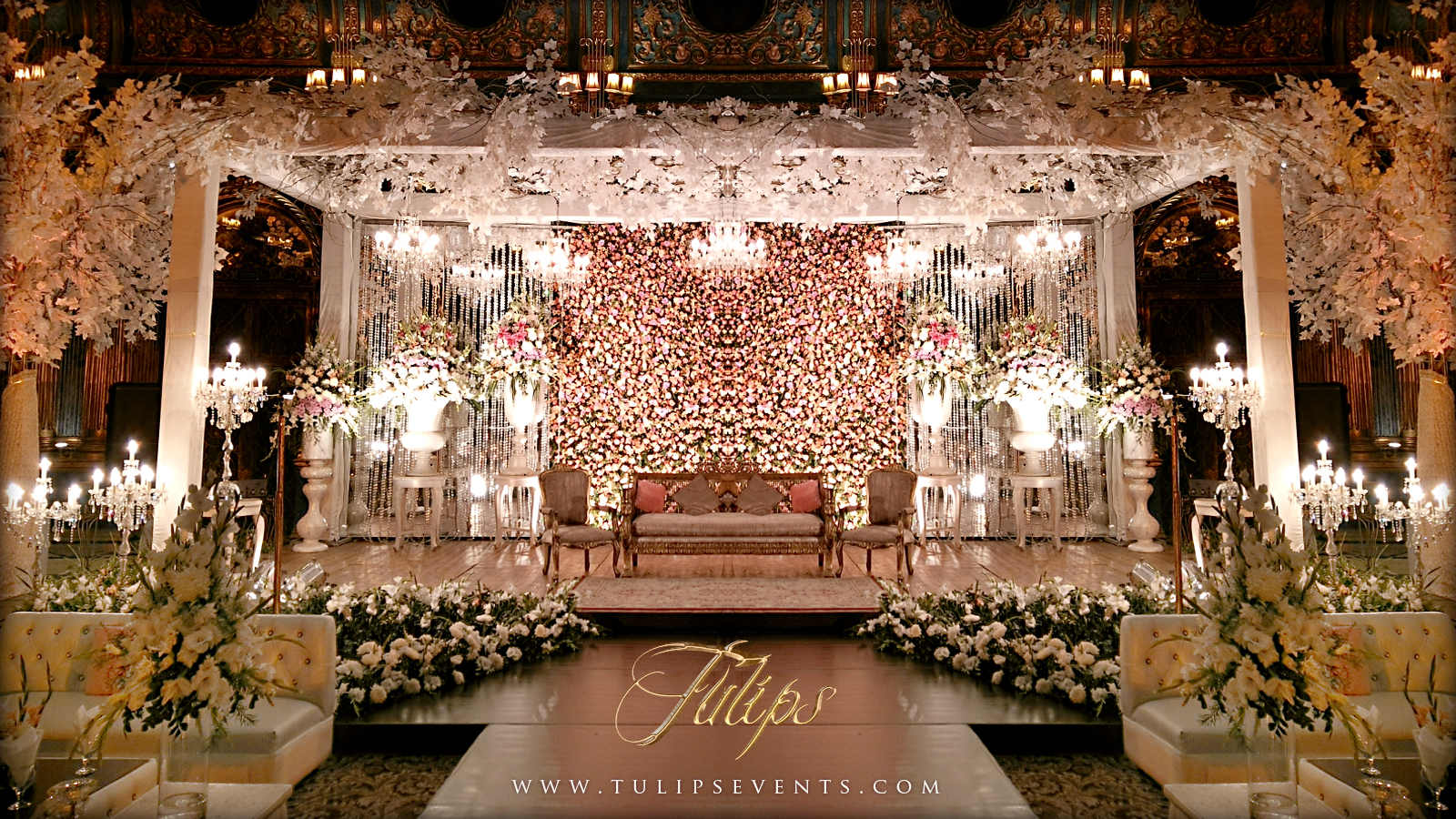 wedding stages decoration tulips events management in lahore pakistan tulips 1162