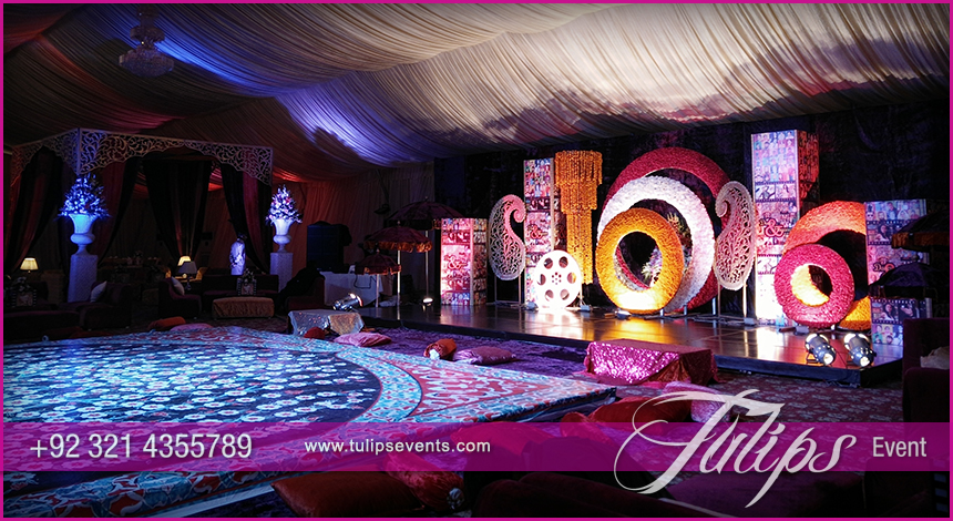 Bollywood Night Mehendi Theme Stage Decoration Ideas In Stan 02