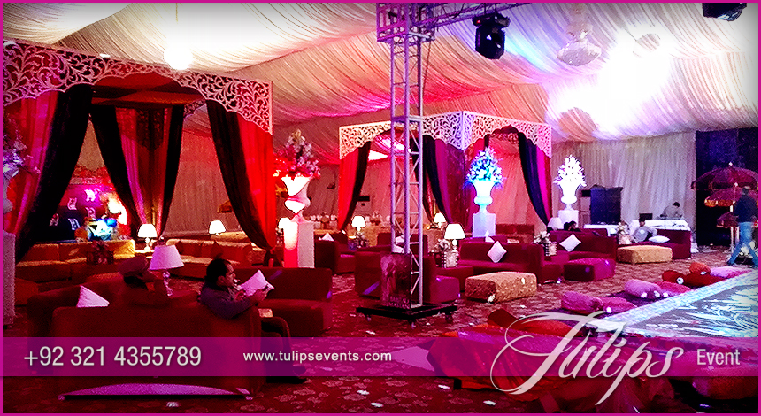 Bollywood night Mehendi Theme Stage decoration ideas in Pakistan