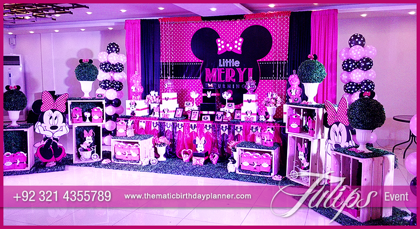 minnie mouse vintage birthday