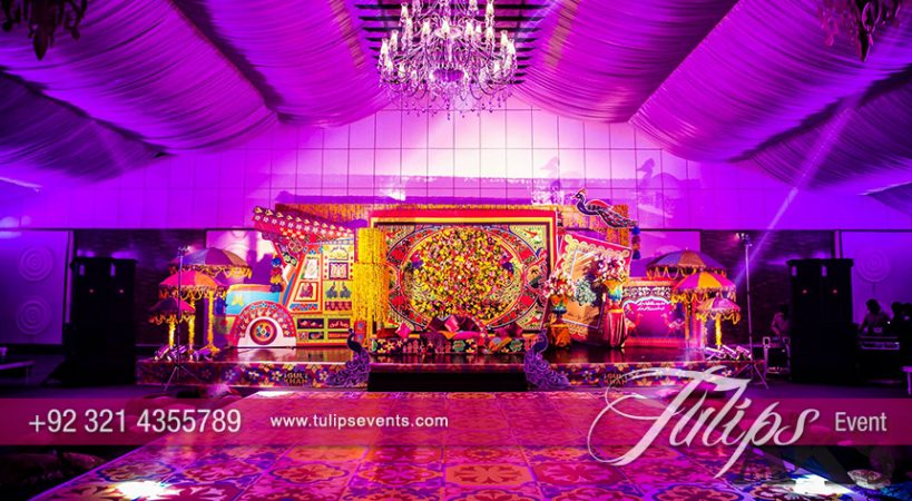 Truck Art Weddings Decoration Ideas By Tulips Events In Pakistan