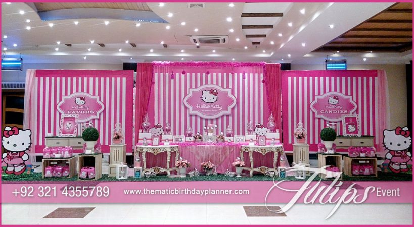 Kitty First Birthday Theme & Kitty First Birthday Theme - Tulips Event Management