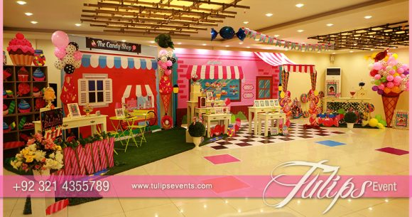 Candyland Theme Party