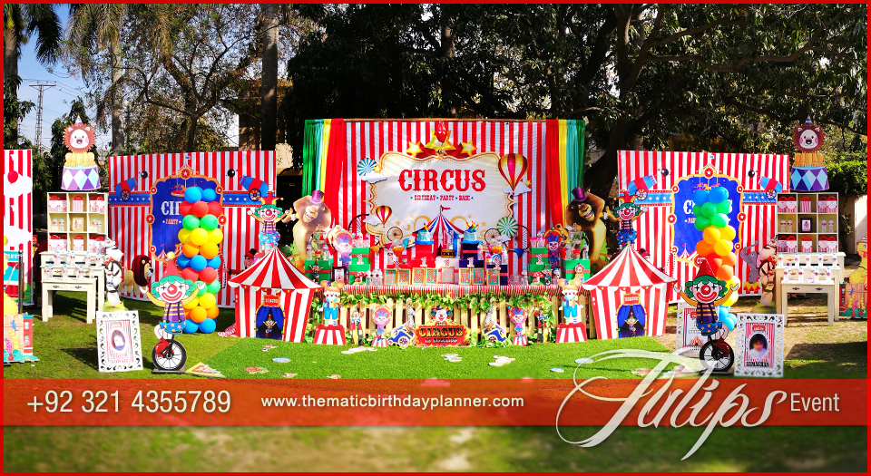 Circus Theme Carnival Party Tulips Event Management