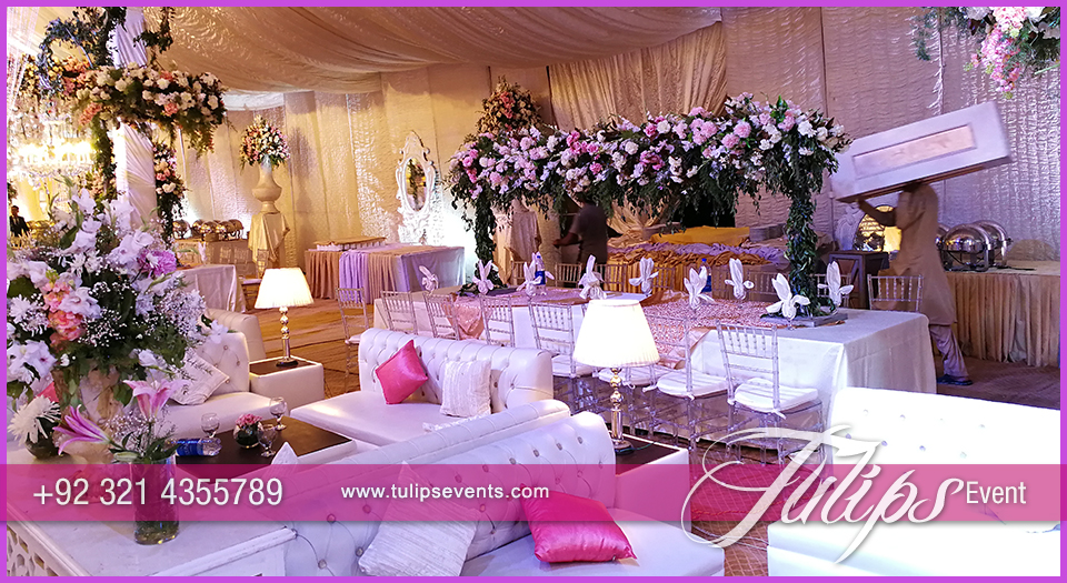 White Wedding Theme Decor Styling Tulips Events In Pakistan 03