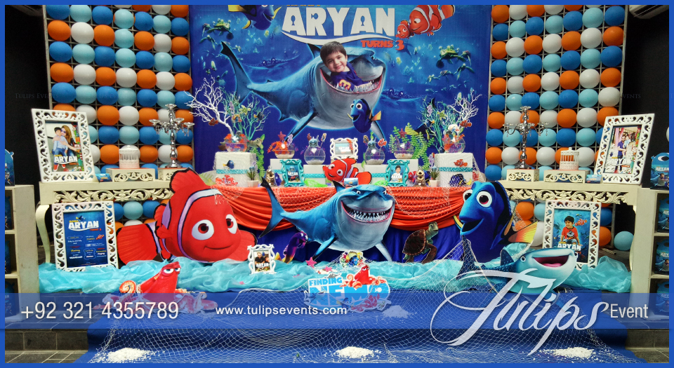 Finding Nemo Ocean Party Theme Tulips Event Management