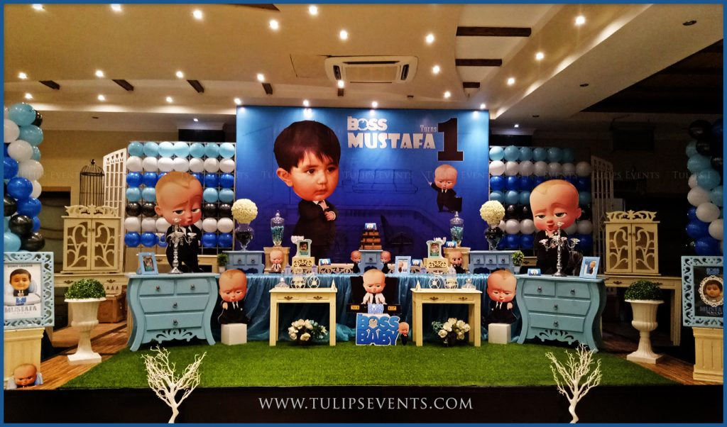 Boss Baby Party Decor Ideas By Tulips Events In Pakistan