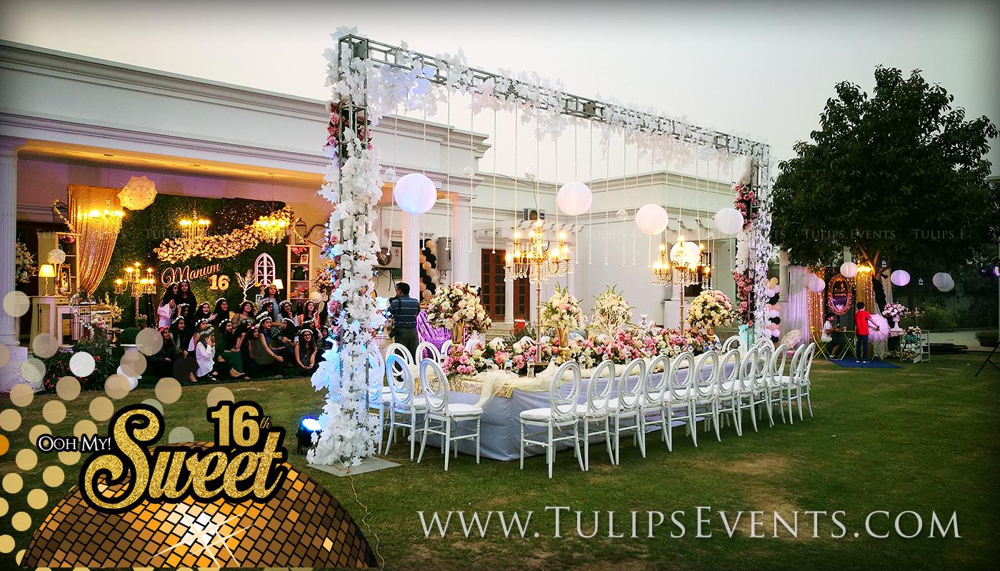 sweet 16 outdoor theme birthday party ideas in Pakistan (9 ...