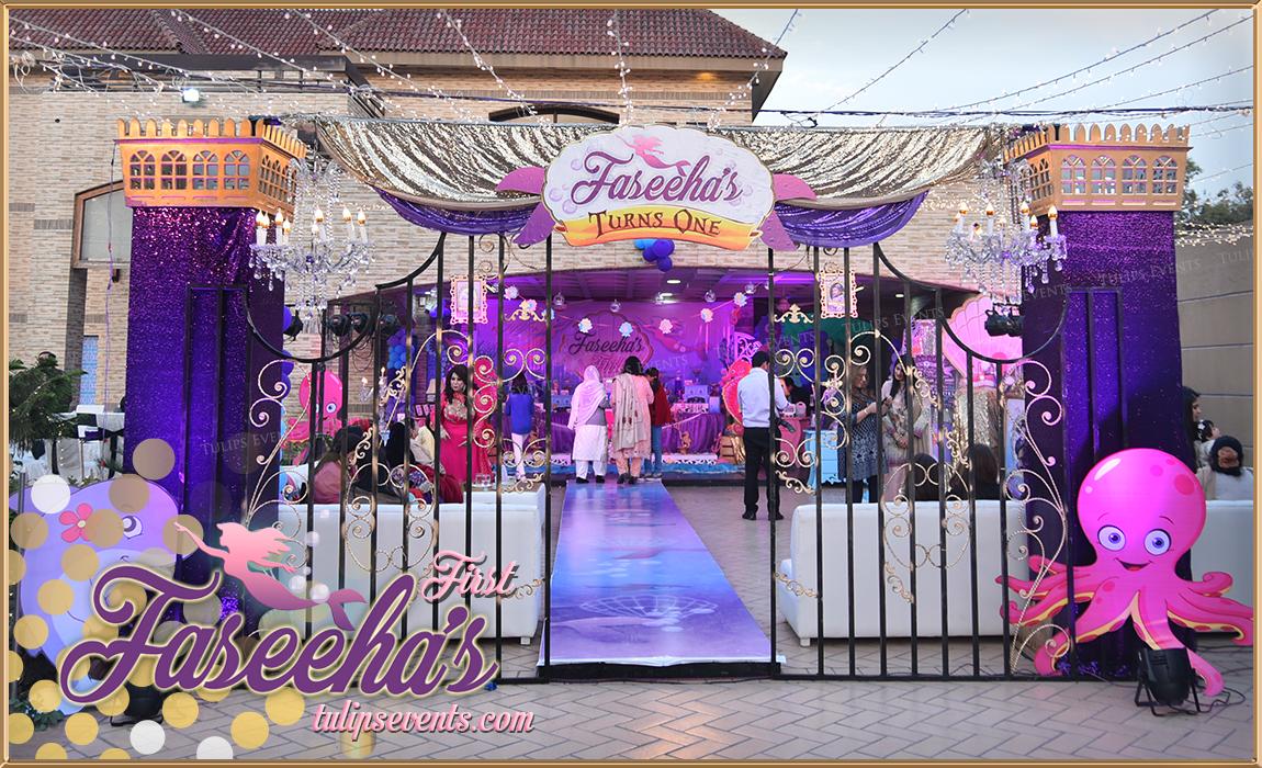little mermaid birthday party theme decoration ideas in pakistan 21