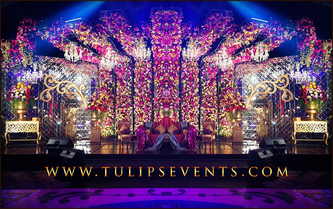 Fairy Tale Wedding Mehndi Roof Decoration Ideas In Pakistan