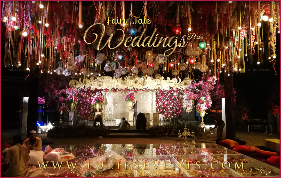 Fairy Tale Wedding Reception Tulips Event Management