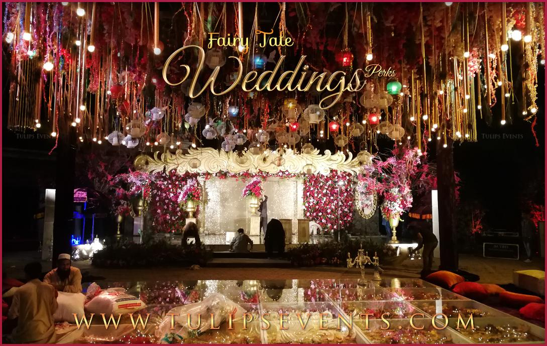 Fairy Tale Wedding Reception Stage Decor Ideas In Pakistan 18