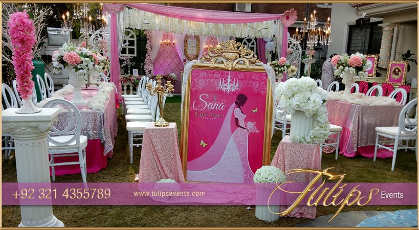 outdoor bridal shower theme