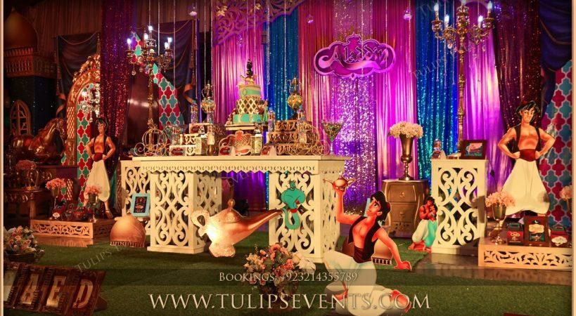 Aladdin Theme Party Decorations Tulips Event Management