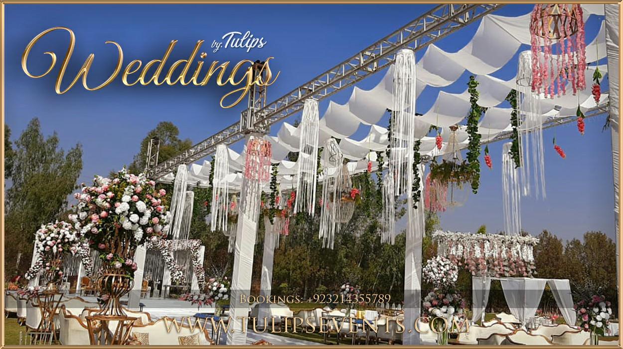 Pakistani Wedding Outdoor Nikah Tulips Event Management